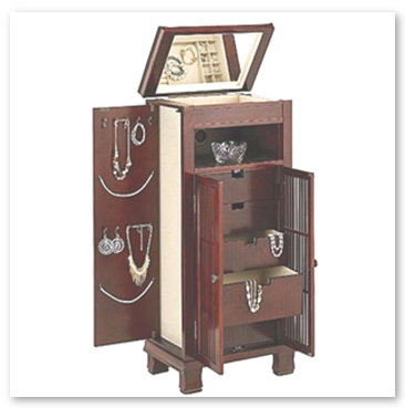 Ground Standing Armoire Jewelry Box