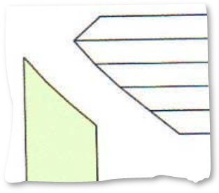 Channel Baguette Relief Angle