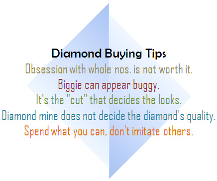 Diamond Buying Tips