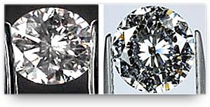 Correct way of holding diamond