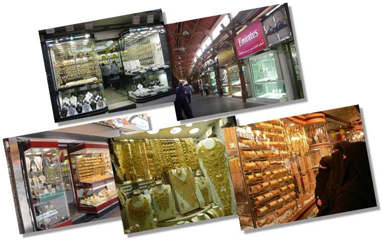 Gold Souk of Dubai