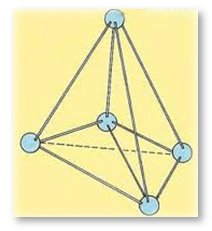 Diamond's Molecular Tetrahedral Structure