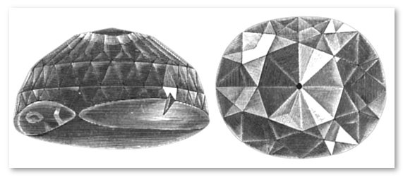 Kohinoor diamond before and after 1852