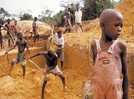 Conflict Diamonds - Laborers