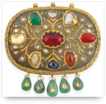 Antique Navaratna Pendant