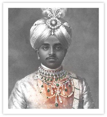 Royal Indian Jewelry - Necklace of Krishnaraja Wodiyar