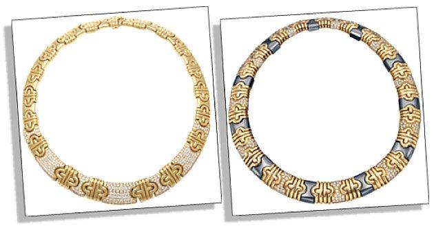 Signature Bvlgari Necklaces