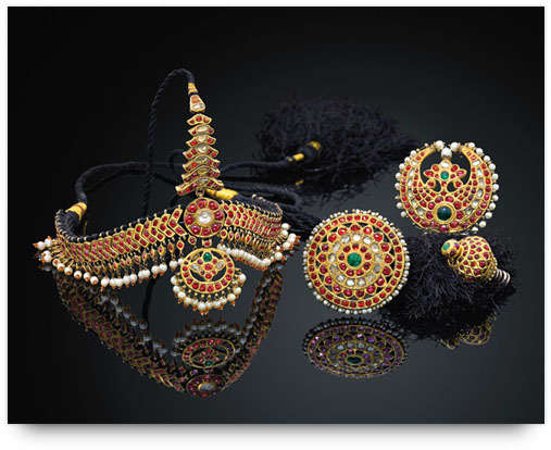 Temple Jewelry - Head Ornaments from the family archives of Ganjam jewelers