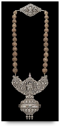 Temple Jewelry - Silver Necklace