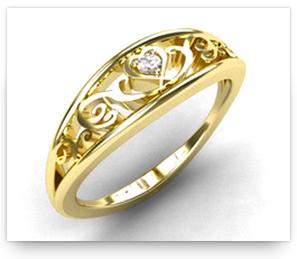 Filigree Wedding Ring